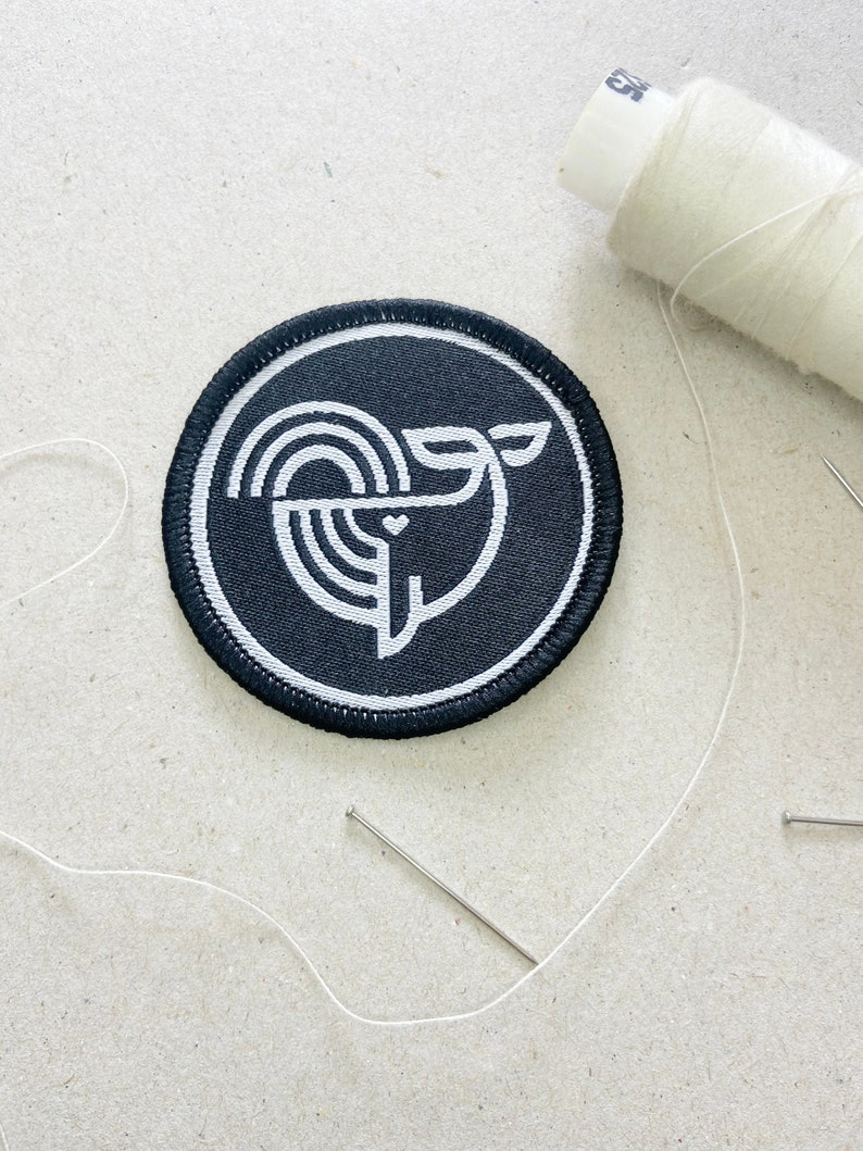 Embroidered Patch Patches Iron on Patches Cleaning Seas image 0