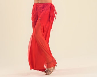 Bellydance pants, palazzo pants, oriental dance pants, wide leg pants SM5103 013