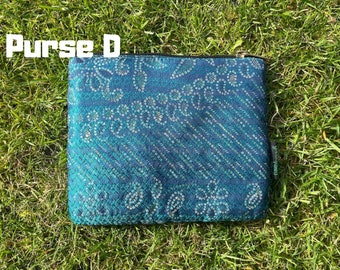 Upcycled Sari Purse And Clutch Handmade from 100% Recycled Vintage  Preloved  Sari For A Slow Fashion Gift