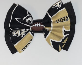 University of Central Florida (UCF) BOW for pet's collars or harness, or girl's hair tie, hair clip or headband, or for a man's neck strap