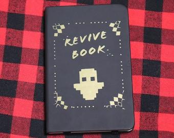 Dream's Revive Book   Dream SMP Notebook