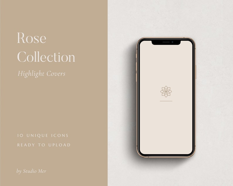 Instagram Highlight Covers  Rose Collection image 0