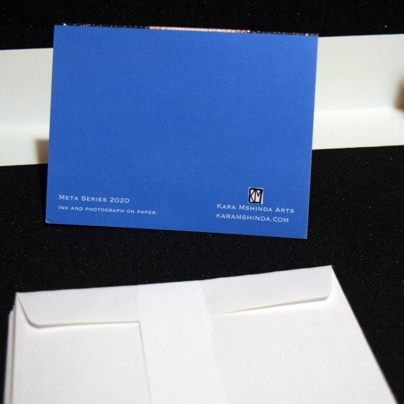 Blank Notecards Cind Meta