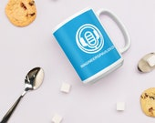 The Imagineers Pavilion: Blue Logo Mug