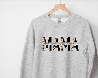 like a mother shirt Mother\u2019s Day Crewneck Sweatshirt ranching shirt gift for ranching mom day like a mama soft sweatshirt for mom