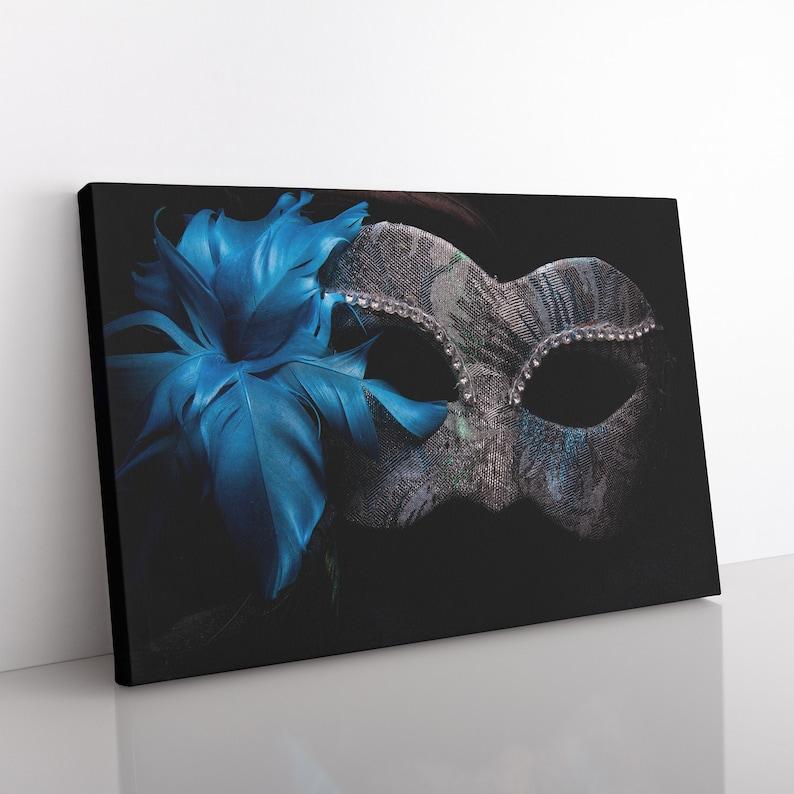 Venetian Mask Canvas Print Fine Art Photography Venice image 0