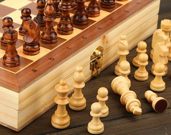 HANDMADE FREE SHIPPING Magnetic Chess Game SetUnique Board Game