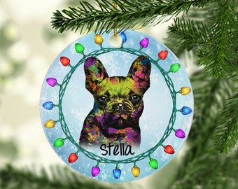 Large Sparkly Crystal Diamanté Studded  French Bulldog Perfect Dog Lovers Gift