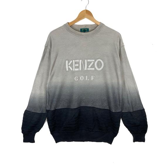 Vintage Kenzo Golf Faded Color Men's Design Sweats