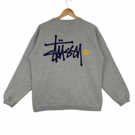 Stussy Big Logos Crewneck Sweatshirt