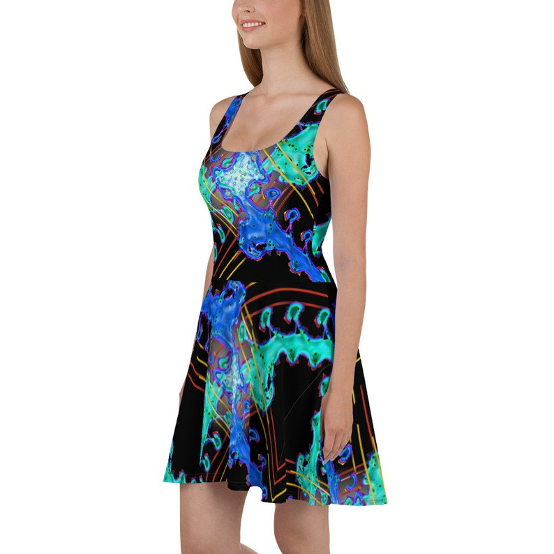 Square Dance Skater Dress by aegiandyad