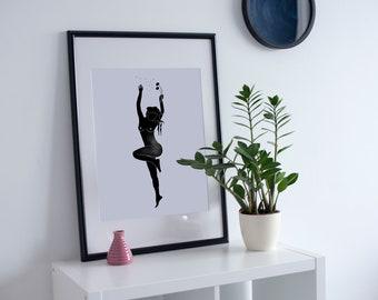 4. 'Dandelion Girl Pt. 2 ' Print