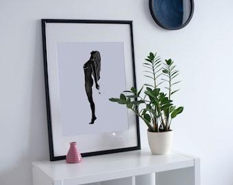 3. 'Dandelion Girl Pt. 1 ' Print