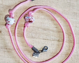 Lovely Vintage Glass fruit bowl style elastic bracelet  Scrunchie Hair Accessory