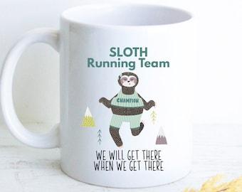 Mama Needs Slothee Coffee Baby Romper