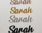 Personalised Acrylic Name Place Seating Cards Custom Made ( Weddings, Anniversary, Engagement, Birthday )