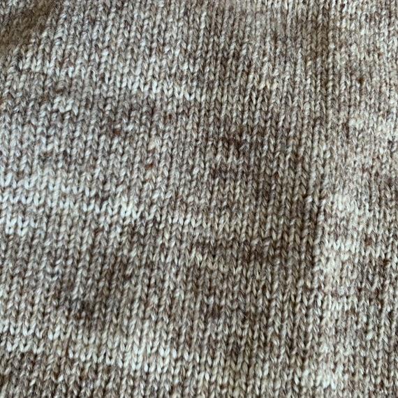 Vintage 70s Sweater Set Gaucho Pants Knit Size Sm… - image 5