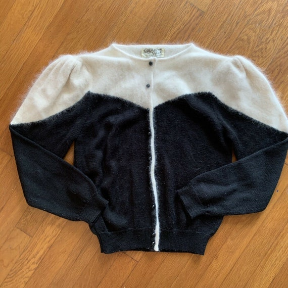 Vintage Angora Wool Sweater Size Small Deadstock F