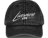 LLM Vintage Cotton Twill Cap
