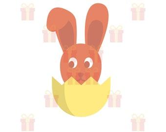Easter Bunny SVG, Spring SVG, Bunny SVG, Bunny Face svg, Rabbit svg, Bunny Rabbit svg, Easter Egg svg Files, Easter svg
