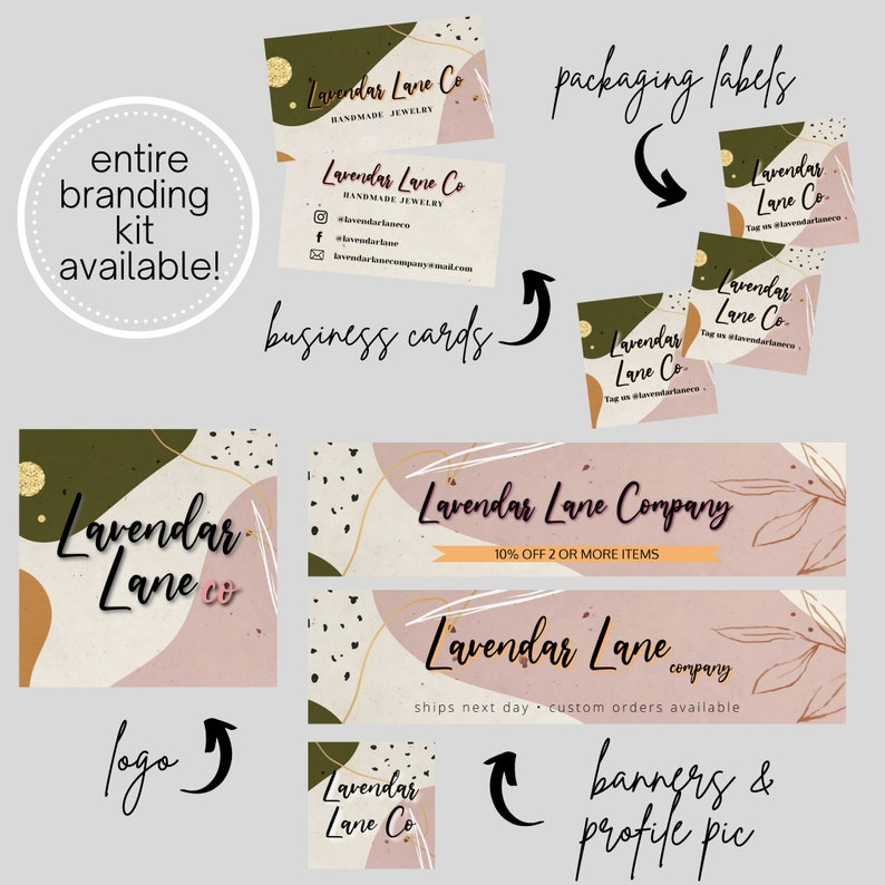2x2 Square Labels Customizable Boho Business Stickers Edit Instantly DIY Printable Thank You Editable Packaging  For Avery Labels