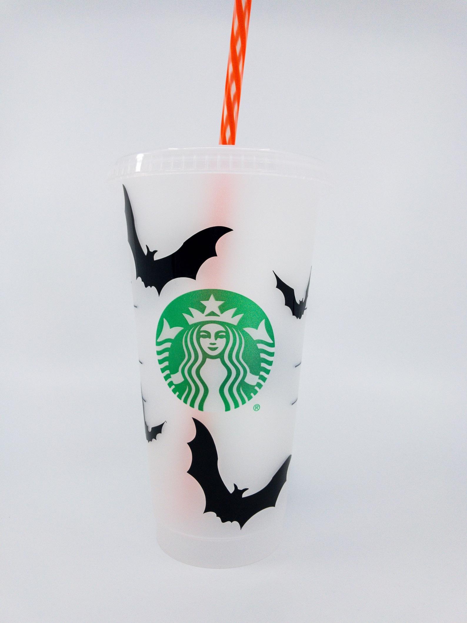 Halloween Bats Starbucks Reusable Tumblers