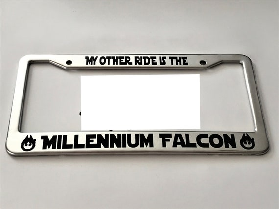 ALL U NEED IS FAITH TRUST SOME PIXIE DUST License Plate Frame Stainless