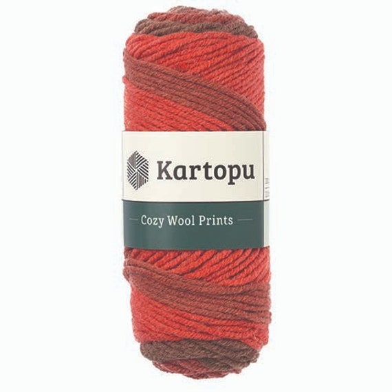 Kartopu Cozy Wool Sport Yarn cameltan chunky woolacrylic