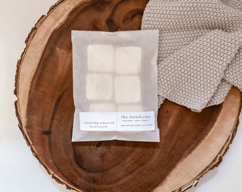 The Farmhouse   Hand Poured Wax Melts   Natural Soy Wax Melts   Gift Ideas