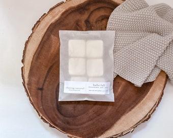 Hello Fall   Hand Poured Soy Wax Melts   Natural Wax Melts   Gift Ideas
