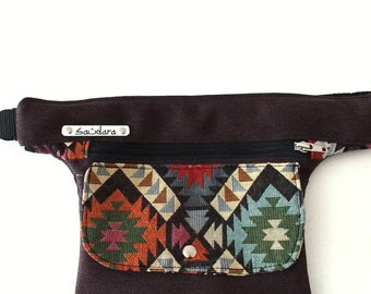 Eclipse flat fanny pack