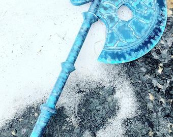 Sub Zeros Ice Axe from Mortal Kombat