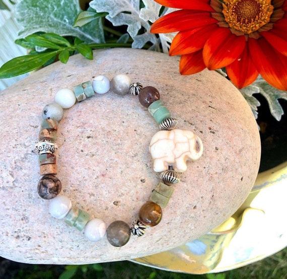 Elephant Bracelet. Women's Bracelet. Bohochic. Women's jewelry. Boho. Spiritual Jewelry