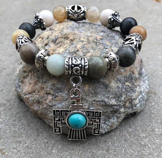 Thunderbird Bracelet. Women's Bracelet. Gift for her. Boho. Native American. Phoenix Spiritual