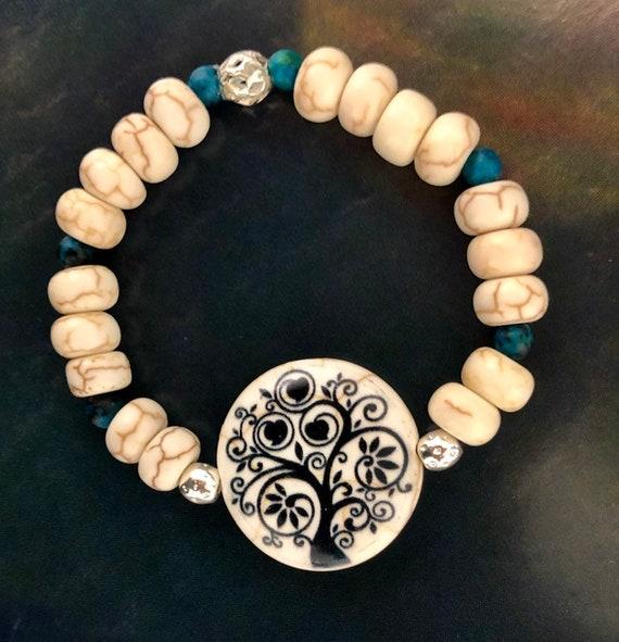 Tree Bracelet. Womens Bracelet. Gift for her. Zen jewelry. Nature jewelry. Boho jewelry