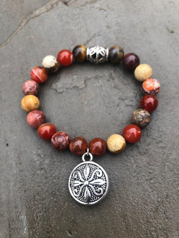 Medallion Bracelet. Women's Bracelet. Gift For Her. Boho Boho Chic
