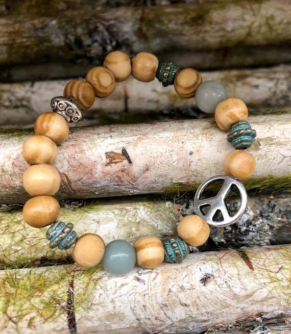 Peace Bracelet. Womens bracelet/Gift for her/BOHO Bracelet