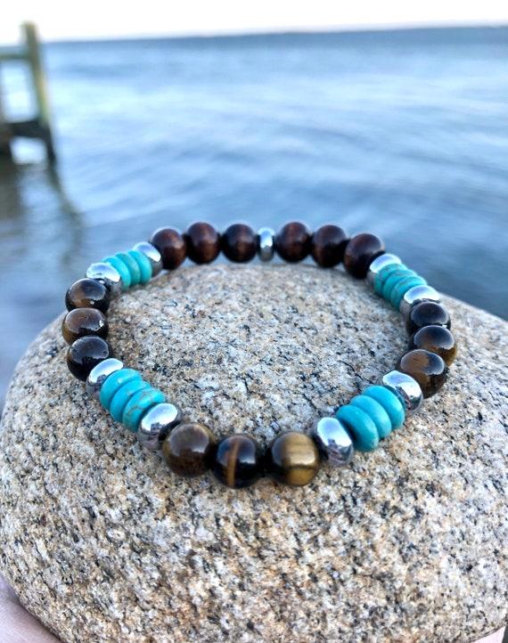 Tiger Eye Bracelet. Women's Bracelet. Bohochic. Protection, Luck. Women's jewelry. Boho. Spiritual Jewelry