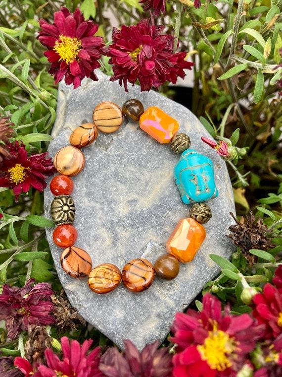 Buddha Bracelet. Women's Bracelet. Gift For Her. Yoga. Meditation. Spiritual jewelry