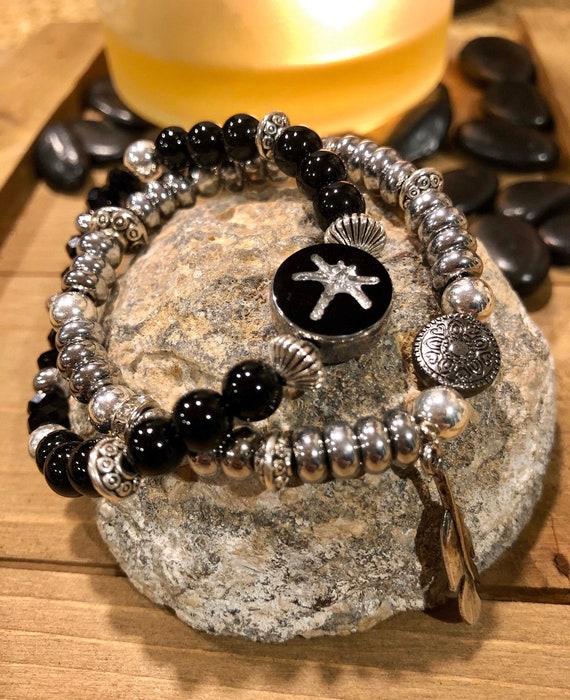 Dragonfly Bracelet Set. Womens Bracelet/Gift for her. Transformation. Boho. Bohemian