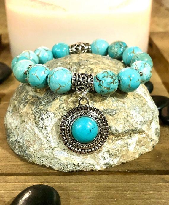 Blue Festival Bracelet. Women's Bracelet. Gift For Her. Hippie. Boho Hippie. Boho Chic