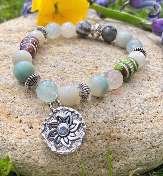 Sun Medallion Bracelet. Women's Bracelet. Men's Bracelet. Gift For Her. Boho. Beachy.