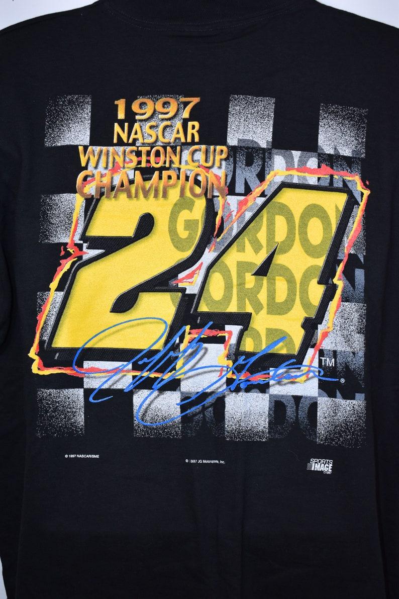 XL NASCAR Jeff Gordon 1997 Winston Cup Champion Vintage Tee NWT