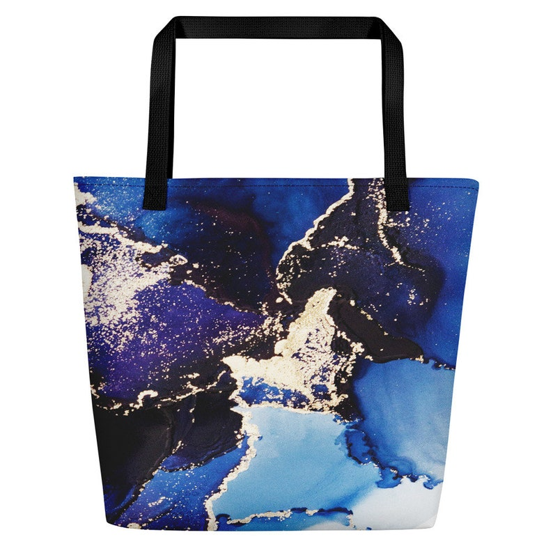 ideal gift for wife Ink Art Beach Bag ideal gift for girlfriend