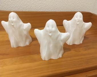 "Halloween decoration ""3 little bright ghosts"""