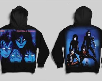 Kiss hoodie | Etsy