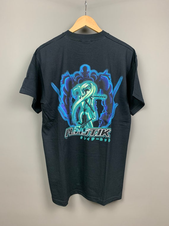 PLASTIK 90S Vintage ANIME T-Shirt / Ghost in the S