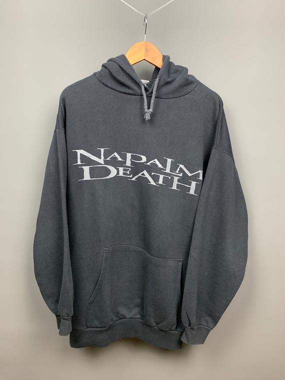 NAPALM DEATH 1994 Vintage World TOUR Sweatshirt /