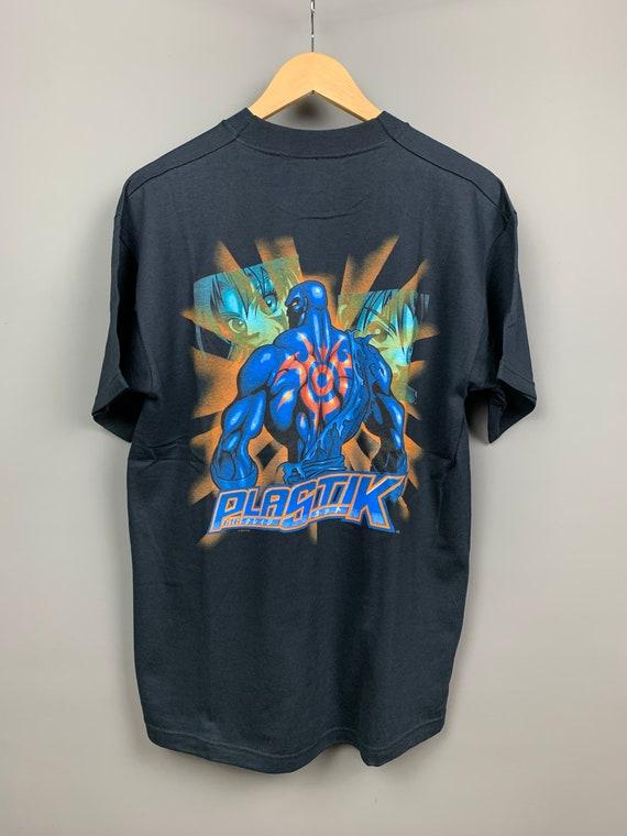 PLASTIK 90s VINTAGE ANIME T-Shirt / Rare / Dragonb