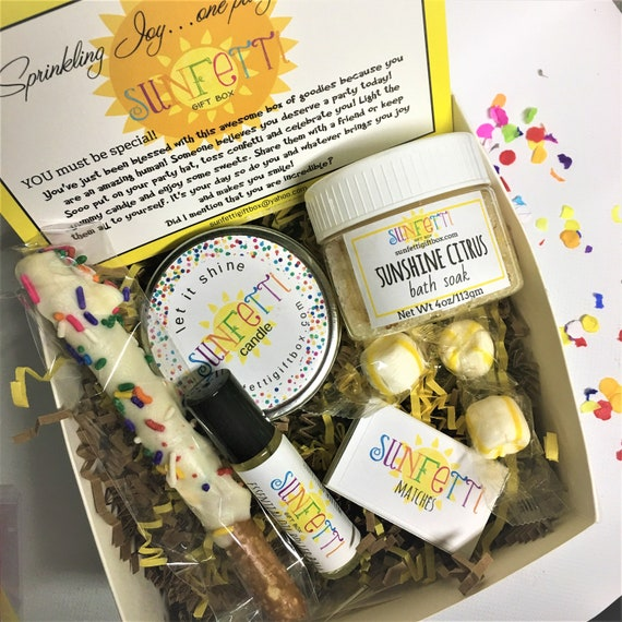 Get Well Soon Gift Box Get Well Soon Care Package Get Well Etsy